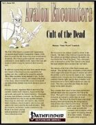 Avalon Encounters Vol 1, Issue #10 Cult of the Dead