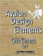 Avalon Design Elements, Celtic Set 7