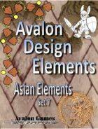 Avalon Design Elements, Asian Set 7