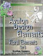 Avalon Design Elements, Floral Set 8