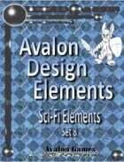 Avalon Design Elements, Sci-Fi Set 8