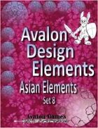 Avalon Design Elements, Asian Set 8