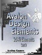 Avalon Design Elements, Sci-Fi Set 9