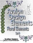 Avalon Design Elements, Floral Set 9