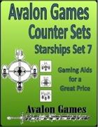 Avalon Counter Sets, Starships Set 7