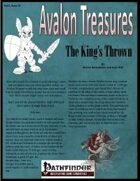 Avalon Treasure, Vol 1, Issue #1 Throne of the King