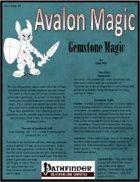 Avalon Magic, Vol 1, Issue #1, Gemstone Magic