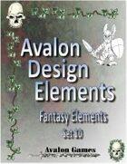 Avalon Design Elements, Fantasy Set 10
