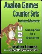 Avalon Counter Sets, Monsters Set #1