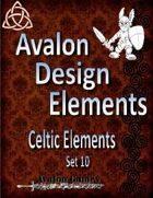 Avalon Design Elements, Celtic Set 10