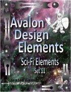 Avalon Design Elements, Sci-Fi Set 11