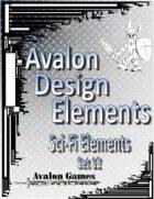 Avalon Design Elements, Sci-Fi Set 12
