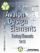 Avalon Design Elements, Fantasy Set 12