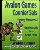 Avalon Counter Sets, Monsters Set 2