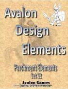Avalon Design Elements, Parchment Set 12