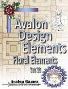 Avalon Design Elements, Floral Set 10
