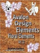 Avalon Design Elements, Floral Set 12