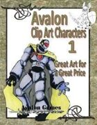 Avalon Clip Art Characters, Star Knight 1