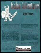Avalon Adventures, Vol 2, Issue #4, Night Terrors