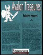 Avalon Treasure, Vol 1, Issue #4, Noble's Secret