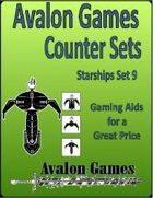 Avalon Counter Sets. Starships Set 9