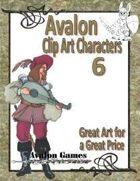 Avalon Clip Art Characters, Bard 1