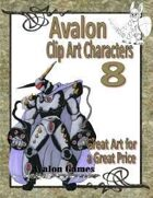 Avalon Clip Art Characters, Star Knight 3