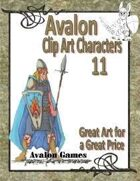 Avalon Clip Art Characters, Elf 1