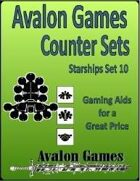 Avalon Counter Sets, Starships Set 10
