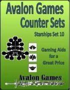 Avalon Counter Sets, Starships Set 10
