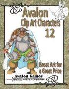 Avalon Clip Art Characters, Dwarf 3