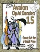 Avalon Clip Art Characters, Star Knight 4