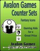 Avalon Counter Sets, Fantasy Icons Set
