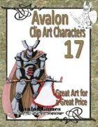 Avalon Clip Art Characters, Star Knight 5