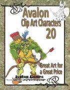 Avalon Clip Art Characters, Goblin 2