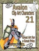 Avalon Clip Art Characters, Star Knight 6