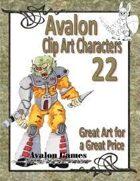 Avalon Clip Art Characters, Alien 3