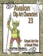 Avalon Clip Art Characters, Goblin 3