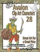 Avalon Clip Art Characters, Goblin 4