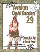 Avalon Clip Art Characters, Barbarian 2