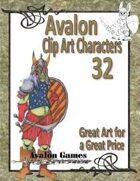 Avalon Clip Art Characters, Goblin 5