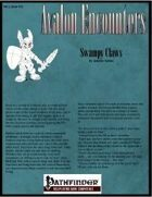 Avalon Encounters, Vol 2, Issues #12, Swampy Claws