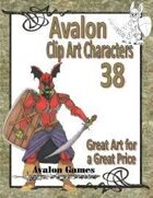 Avalon Clip Art Characters, Death Knight