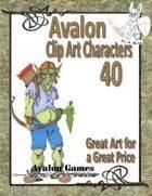 Avalon Clip Art Characters, Goblin 6