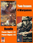 BUNDLE: 2 Issues Panzer Digest (4 games)