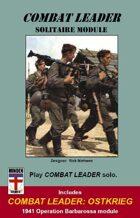 Combat Leader: Solitaire Module & Ostkrieg SET