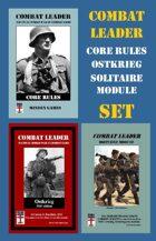 Combat Leader: Core Rules, Solitaire Module & Ostkrieg SET