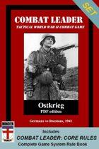Combat Leader SET: Core Rules & Ostkrieg