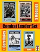 Combat Leader SET: Poland 1939, Winter War, Volkssturm, Core Rules