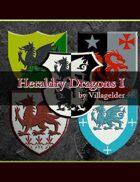 Heraldry Dragons I